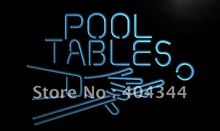LB009- Pool Tables Room LED Neon Light Sign home decor shop crafts(China)