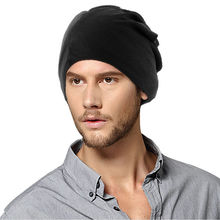 2016 New Women Men Unisex Slouch Hats Solid Candy Color Hip-Hop Beanie Cap Hat FreeShipping #U102K#