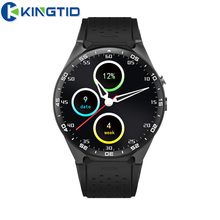 KW88 Smart Watch Phone BT4.0 MTK6580 Quad core Heart Rate Nano Sim card GPS Google Play 4GB 2.0MP Camera 3G WiFi for Android iOS