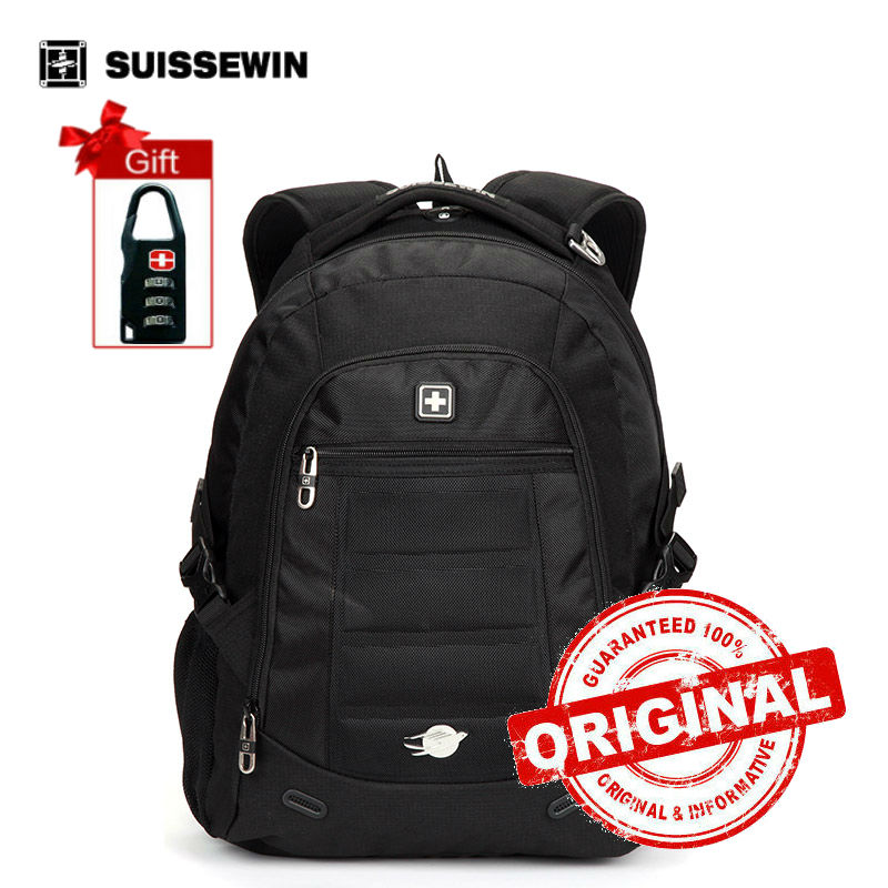 Suissewin Brand School Bags  laptop Backpack Swisswin  Boys Girls Backpack Sac a dos Male Mochila Bagpack Bag sn9303<br>