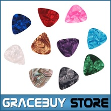 500 pcs lot Wholesale Celluloid Guitar Picks ( 3 thickness 0.46 0.71 0.96 mm ) Good Quality Without LOGO Puas palheta