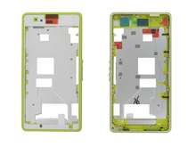 For Xperia Z1 Compact D5503 White/Black/Green/Pink Color LCD Front Frame Board Plate Housing