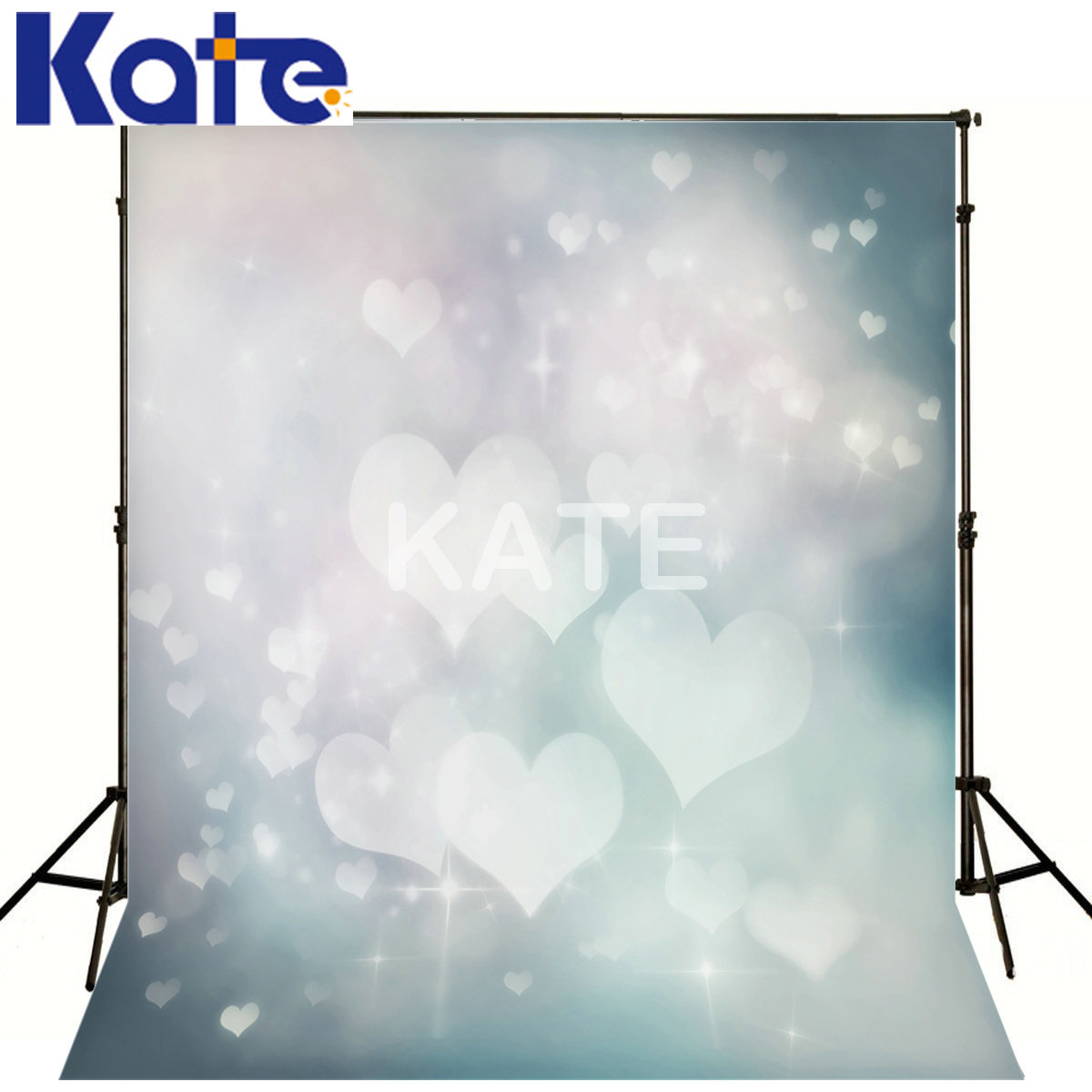 Kate Thick Cloth Backdrop Photography  Backdrops For Photography Hazy Gray Love For Baby Kate  Photography Backdrops<br>