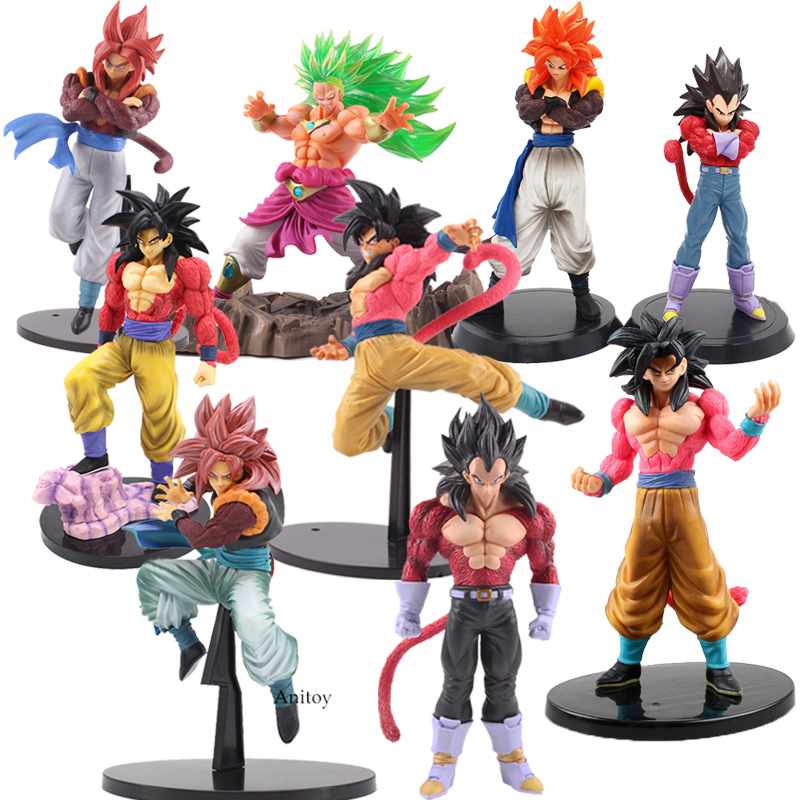 "10/"" PVC Figure New in Box 1DragonBall Z Dragon Ball Super Saiyan Broly 25cm"