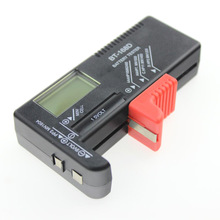 1pcs high quality battery tester digital battery capacity tester Check power level for 1.5V and 9V batteries