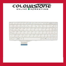 White color Brazilian Portuguese Laptop keyboard for ASUS eee pc 700 EPC900  701 702 2g 4g 8g 900hd 8 PO/ BR  netbook keyboard