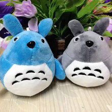 12cm Cute Small Pendant Totoro Plush Toys Wedding Gift stuffed animals doll birthday gift(China)