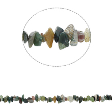 YYW DIY Making Loose Beads for Bracelet Necklace Jewelry 5-8mm  Mixed Aventurine Quartz India   Stone Chips Beads