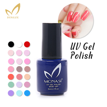 MONASI Free SHipping Bright Red UV Gel Nail Polish For Women Art Tools Non-Toxic(DA001~DA031)