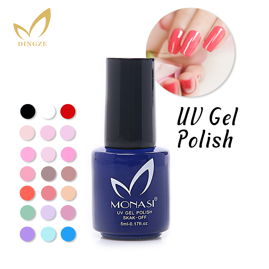 MONASI Free SHipping Bright Red UV Gel Nail Polish For Women Art Tools Non-Toxic(DA001~DA031)(China (Mainland))