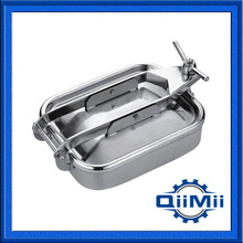 430x330mm SS304 Rectangular tank cover,Stainless steel tank manway(China)