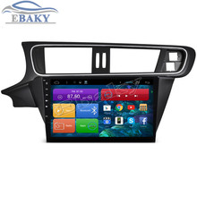 New 1024*600 Quad Core 10.2inch Android 4.4 Car Radio for Citroen C3 XR 2015-With Bluetooth 16GB Nand Flash 3G Wifi Free Map