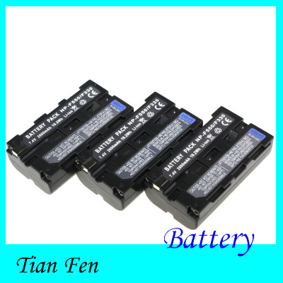 Hot Sale 3pcs Battery NP-F550 NP-F330 NP F550 NP F330 Rechargeable Camera Battery For Sony TR917 TRV75 PM090 Digital Camera<br><br>Aliexpress
