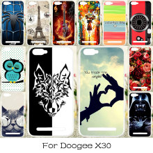 TAOYUNXI DIY Painted Silicone Phone Cover Case For Doogee X30 5.5inch Flexible Housing Bag Shock-Proof Covers For Doogee X30(China)
