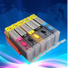 one set five colors HP564 hp564xl Ink Cartridge for HP Photosmart 5510 5520 7520 officejet 4610 4620 printer cartridge