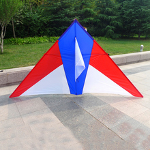free shipping high quality 2m large delta kite with handle line ripstop nylon fabric eagle kite octopus kite board