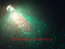 100pcs 3mm Colorful Slow Flashing Flash RGB Red Blue Green LED water clear
