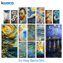 Buy Van Gogh Pattern Couple Phone Case Sony XA1 5.0 inch Coque Sony Xperia XA1 Dual G3112 G3116 G3121 G3123 Case Cover for $1.25 in AliExpress store