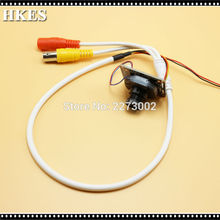 HKES 98pcs/Lot 2.0MP 1080P AHD Camera Module 6mm Mini Security CCTV Cameras with BNC Port Cable