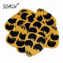 SOACH guitar tuner new 10pcs 0.71mm  rock band two side earrings pick DIY design guitar accessories pick guitar picks