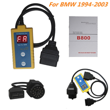 New B800 Auto Airbag Scan Reset Tool OBD2 For 1994 - 2003 BMW Diagnostic Tool Professional Car Repair Tool 8V ~ 12V