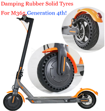 Buy Shock Absorber Porous Damping Tyres Wheels Xiaomi Mijia M365 Scooter Skateboard Solid Hole Tires Avoid Non-Pneumatic Tyre for $19.50 in AliExpress store