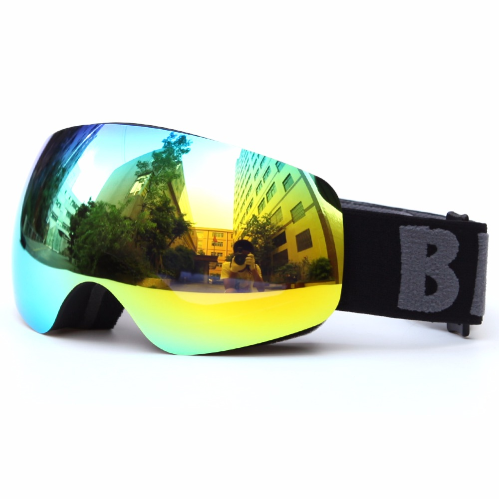 Professional Kids Ski Goggle Brand Children Skiing Goggles Anti-Fog Anti-UV Double Lens Snow Goggle Ski Glasses Eyewear Colorful<br>