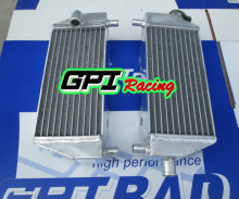 L&R Aluminum Radiator For Kawasaki KX250 KX125 KX 250 KX 125 1999 2000 2001 2002 99 00 01 02(China)
