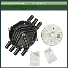 Ignition VORTEC Distributor Cap Rotor Kit For CHEVY GMC OLDSMOBILE ISUZU V6 OE#:104 524 58,104 524 57,10452458,10452457,10452459(China)