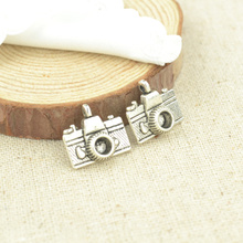 15 pcs 15*14 mm Antique Tibetan Silver Charms Bracelet Necklace Pendant  New Fashion Alloy charm  camera 2367