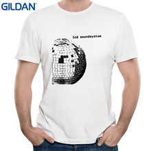 GILDAN Tshirt Hipster Cool O Neck Tops Men's Lcd Soundsystem Album Cover Short Sleeves T Shirts(China)