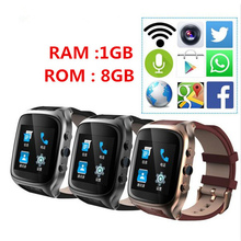 Tinymons X01S Android Smartwatch Phone Bluetooth Smart Watch 1.3GHz Dual Core IP67 GPS Watch Cam 1G 8G Heart Rate 600mAh 3G WiFi