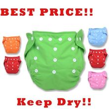 1PCS Reusable Baby Infant Nappy Cloth Diapers Soft Covers Washable Free Size Adjustable Fraldas Winter Summer Version #54