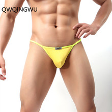 Buy Sexy Men Modal Underwear Briefs Panties Low Waist Trunks Convex Homme Bulge Pouch Soft Male G-String Underpants Briefs