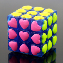 Love Cube Cube Antistress Cube Speed Spinner Hand Cubos Magicos Puzzles Educational Toys Hobby Anti Stress Cubo Magico 3x3x3 50K
