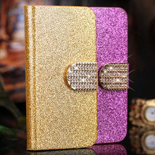 "Buy Luxury bling leather case Alcatel One Touch Pixi 4 4.0 4034D Case 4.0"" phone cover flip case Alcatel Pixi 4 4'' 4034D for $2.68 in AliExpress store"
