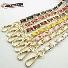 Hight quality bag chain handle  purse strap bag hardware handbag strap bag parts bag metal belt handles and shoulder straps