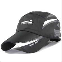 2017 Summer Baseball Cap Men Outdoor sport Breathable Quick-Drying Mesh Hats Men and Women Sunshade Caps golf hats pink black