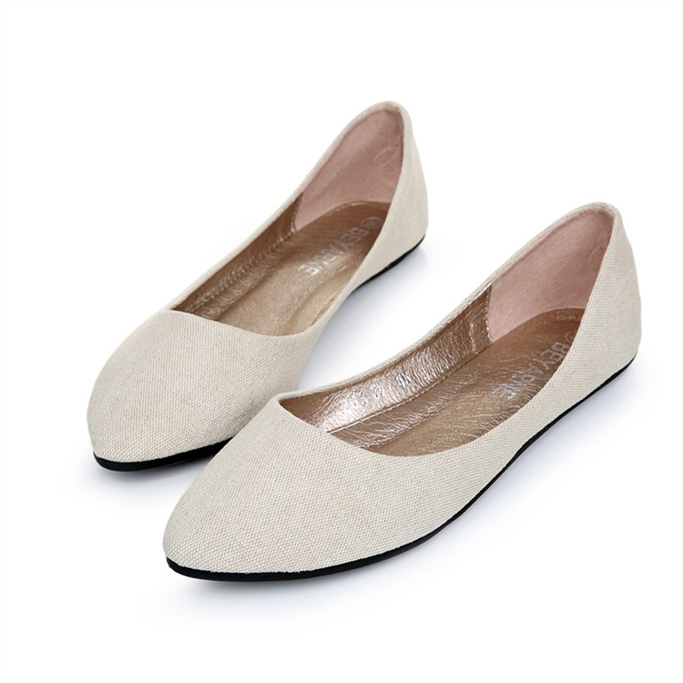 Ladies Shoes Ballet Flats Women Flat Shoes Woman Ballerinas Black Large Size 41 Casual Shoe Sapato Womens Loafers Zapatos Mujer<br><br>Aliexpress
