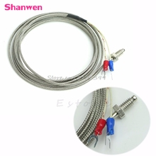 2M M6 K-Type 0-600 Degree Screw Thermocouple Temperature Controller Sensor Probe #G205M# Best Quality