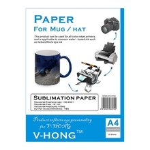 A4 sublimation paper mug high temperature resistant heat transfer paper for cups transfer paper(China)
