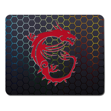 Sales Of High-Quality Custom Logo Design MSI Gaming Mouse Pad Rubber Mouse Pad computer Tablet Game