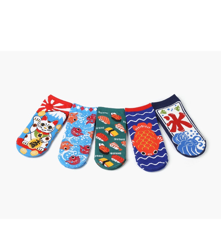 Japanese Fashion Creative Cotton Socks