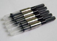 5pcs Black Fountain Pen Ink Converter Cartridges Hot Sale 3mm Pen refill