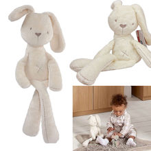 Fashion hot Cute Kids Toys Rabbit Gift Doll Bunny Plush Toy Stuffed Animal Toys for Children 54*11CM