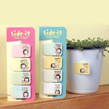 Mini Cute Kawaii Cartoon Girls Memo Pads Note Pad Paper Stickers Korean Stationery Goods for School Office Supplies