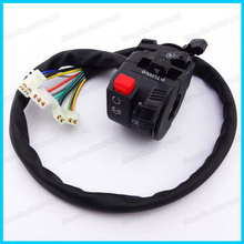 New Handle Switch Control 11Wires 4 functions with choke Lever for 50cc 110cc 125cc 150cc 200cc 250cc ATV Quad