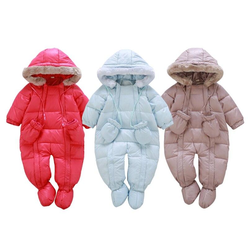 20b510b17d9d New 2017 Winter down jacket for girls coats 0 24M Baby winter ...