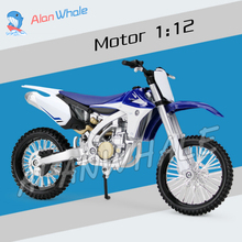 1:12 Scale New Yamaha YZ450F Metal Diecast Model Motorcycle Motorbike Racing Cars Toys Boys Vehicle Moto GP Collection(China)