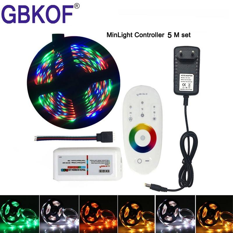 44keys IR Remote Controller+12V 10A Power 10M 5050 RGB Flexible led strip light